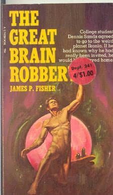 book cover of The Great Brain Robber