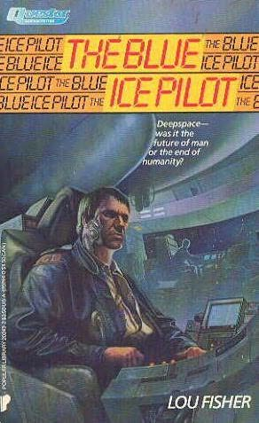 book cover of The Blue Ice Pilot