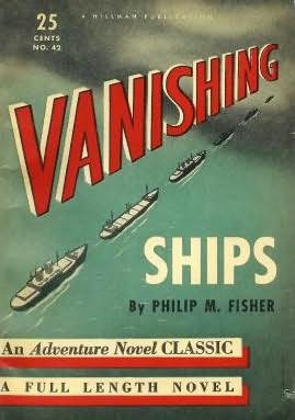 book cover of Vanishing Ships