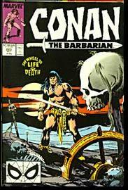 book cover of Conan the Barbarian