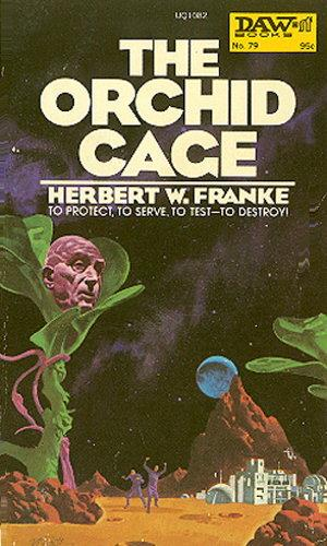 book cover of The Orchid Cage
