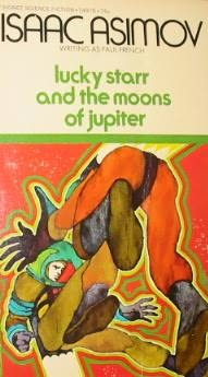 book cover of Lucky Starr and the Moons of Jupiter