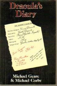 book cover of Dracula\'s Diary