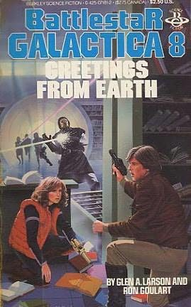 book cover of Greetings from Earth