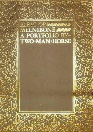 book cover of Elric of Melnibone