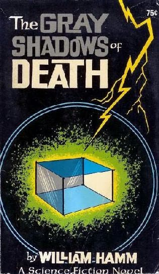 book cover of The Gray Shadows of Death