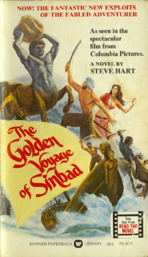 book cover of The Golden Voyage of Sinbad