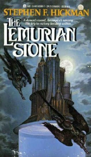 book cover of The Lemurian Stone