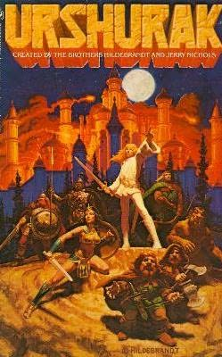 book cover of Urshurak