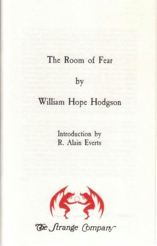 book cover of The Room of Fear
