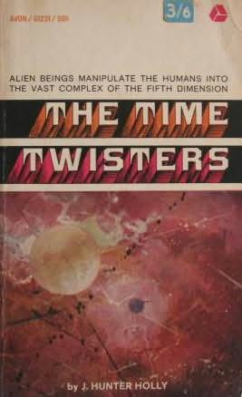 book cover of The Time Twisters