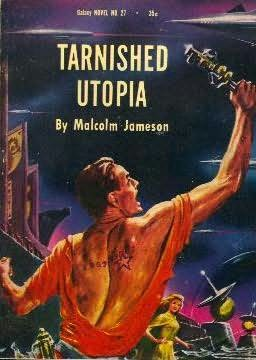 book cover of Tarnished Utopia