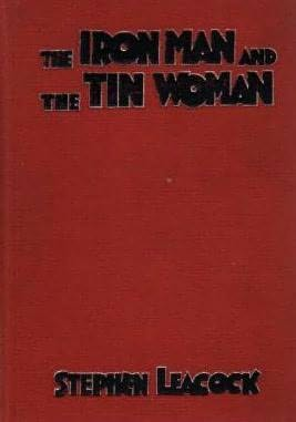 book cover of The Iron Man and the Tin Woman