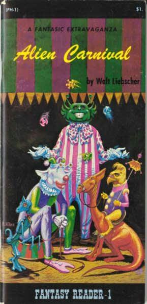 book cover of Alien Carnival