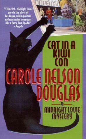 book cover of Cat in a Kiwi Con