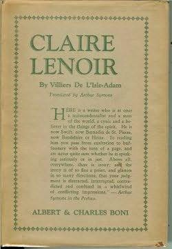 book cover of Claire Lenoir
