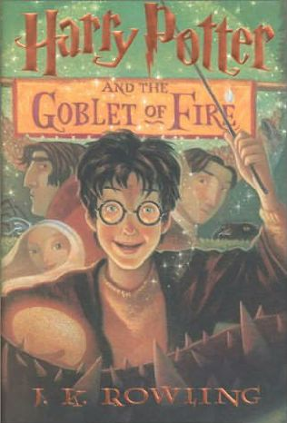 book cover of  Harry Potter and the Goblet of Fire   (Harry Potter, book 4) by J K Rowling