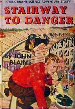 book cover of Stairway to Danger
