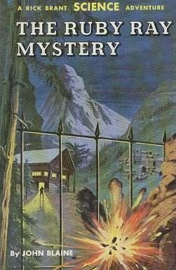 book cover of The Ruby Ray Mystery