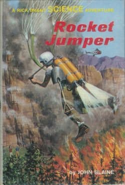 book cover of Rocket Jumpers