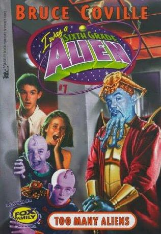 book cover of Too Many Aliens!