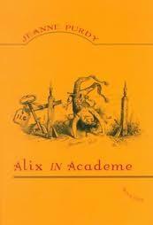 book cover of Alix in Academe
