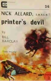 book cover of Printer\'s Devil