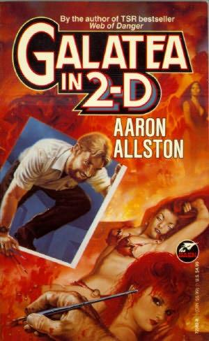 book cover of Galatea in 2-D