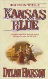 book cover of Kansas Blue