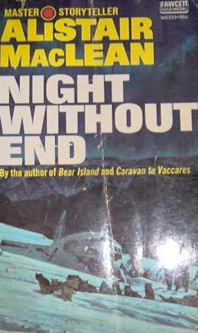 book cover of Night Without End