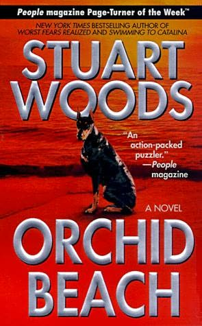 book cover of Orchid Beach