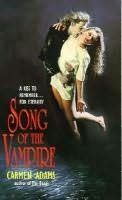 book cover of Song of the Vampire