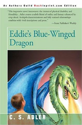 book cover of Eddie\'s Blue-Winged Dragon