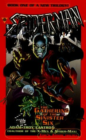 book cover of The Gathering of the Sinister Six