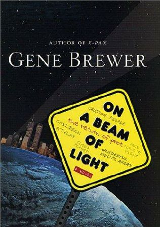 book cover of On a Beam of Light