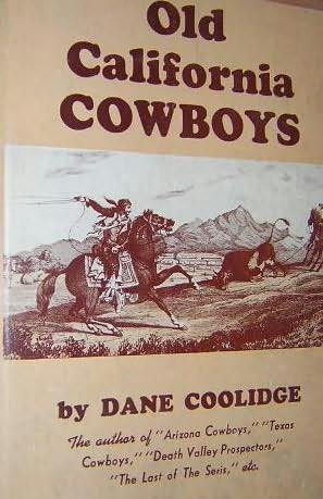 book cover of Old California Cowboys