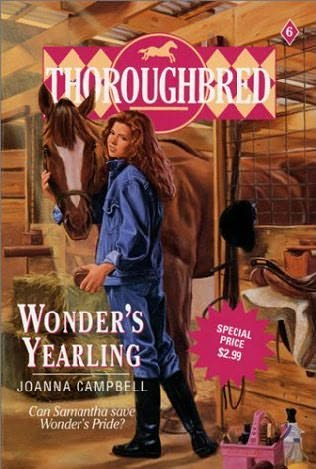 book cover of Wonder\'s Yearling