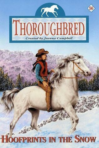 book cover of Hoofprints in the Snow
