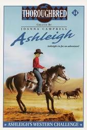 book cover of Ashleigh\'s Western Challenge
