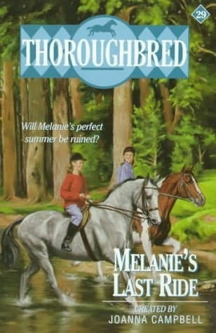 book cover of Melanie\'s Last Ride