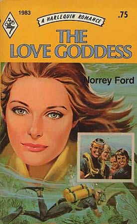 book cover of The Love Goddess
