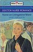 book cover of Nurse on Livingstone Ward