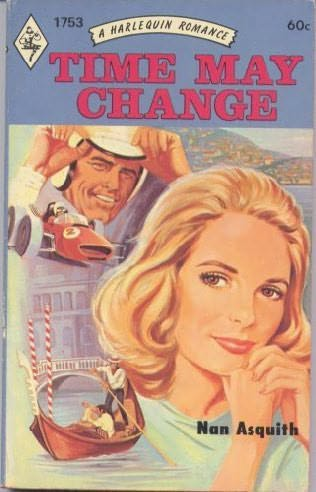 book cover of Time May Change