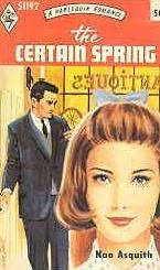 book cover of The Certain Spring