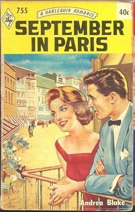 book cover of September in Paris