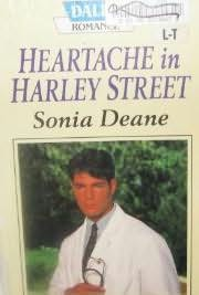 book cover of Heartache in Harley Street