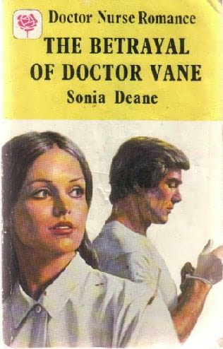 book cover of The Betrayal of Doctor Vane