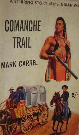 book cover of Comanche Trail