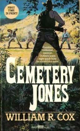 book cover of Cemetery Jones