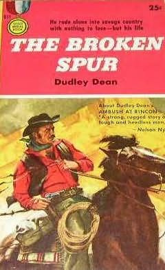 book cover of The Broken Spur